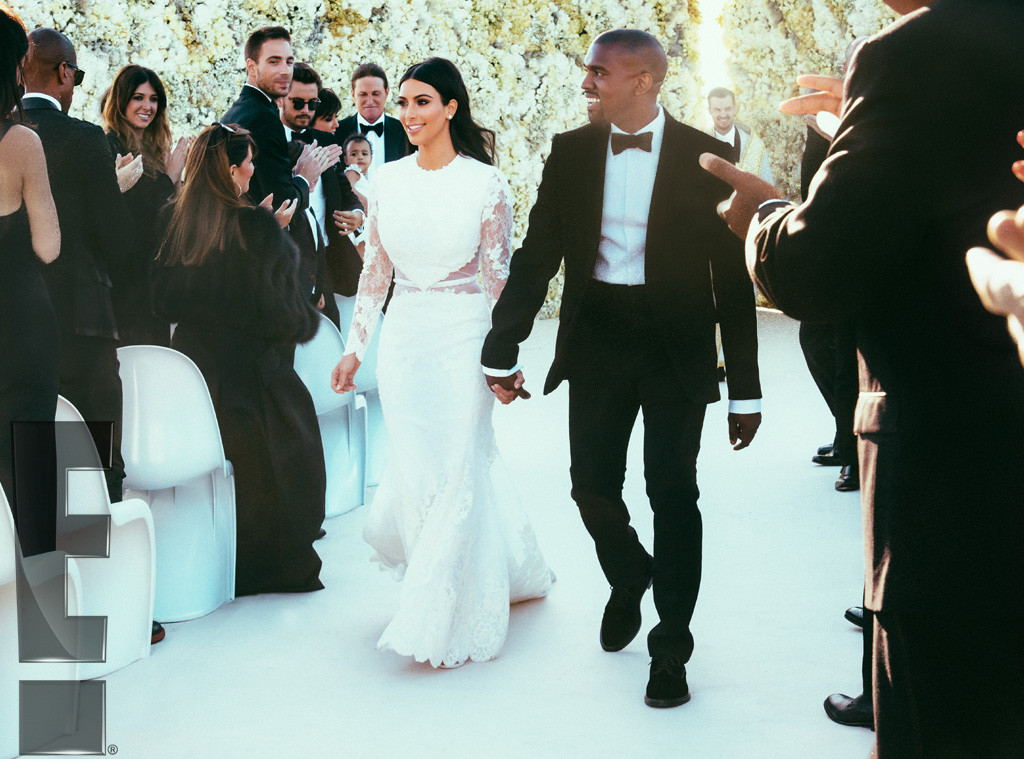 5 new Kimye wedding photos that will blow your freaking mind.