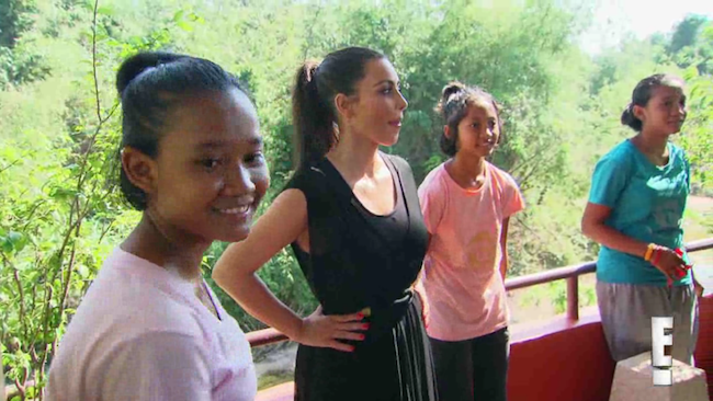 This Thai girl decided she would rather live in an orphanage than be adopted by Kim Kardashian.