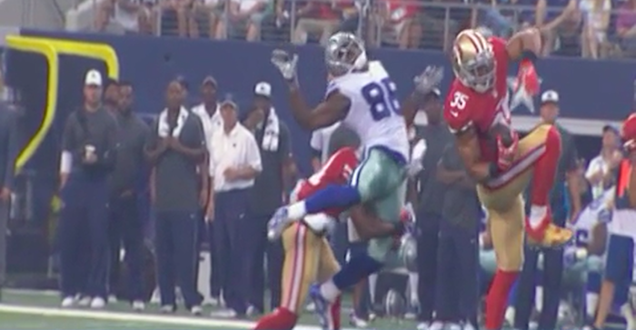 There was an NFL hit so hard this weekend, it became a lesson in both anatomy and physics.