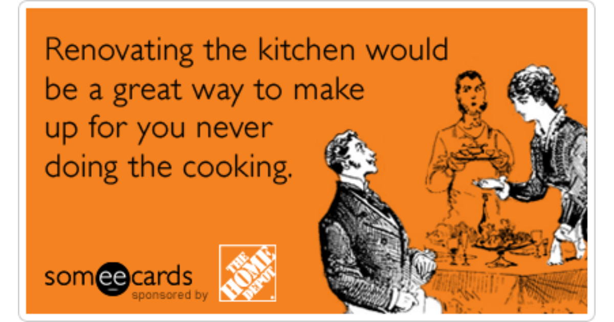 Kitchen Renovation Gifts Holidays Christmas Home Depot ...
