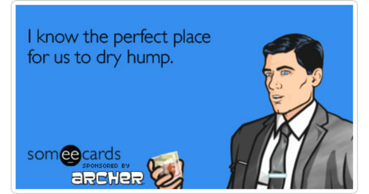 Archer Ecards Free Archer Cards Funny Archer Greeting Cards At – Tv Valentines Day Cards