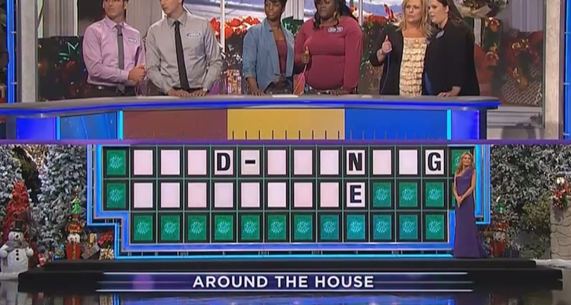 These two 'Wheel of Fortune' contestants just entered the Dumb Guess Hall of Fame.