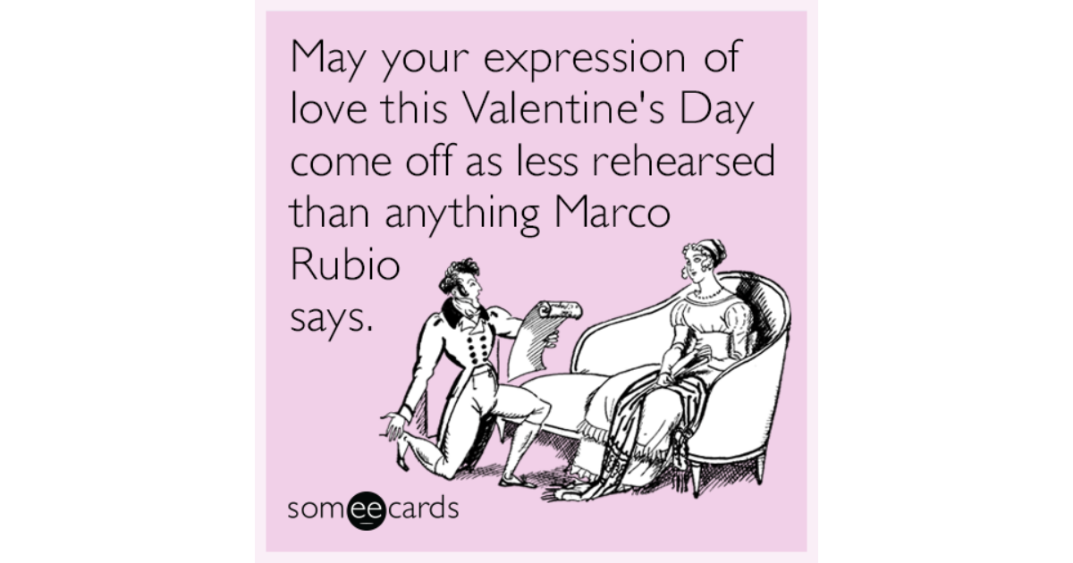 May your expression of love this Valentine\'s Day come off as less ...