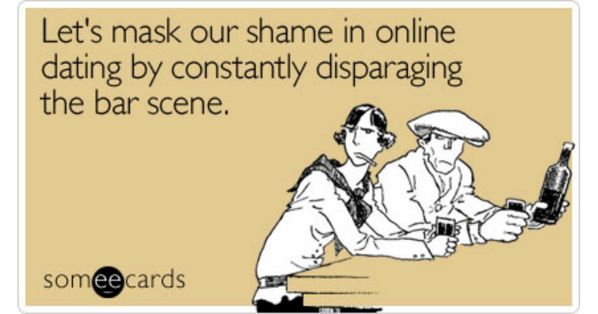 Online dating vs bar scene