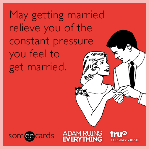 Feelings before getting married
