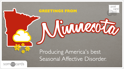 Producing America's best Seasonal Affective Disorder.