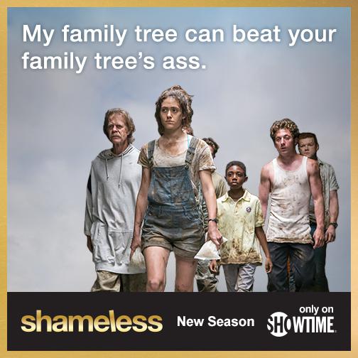 My family tree can kick your family tree's ass.