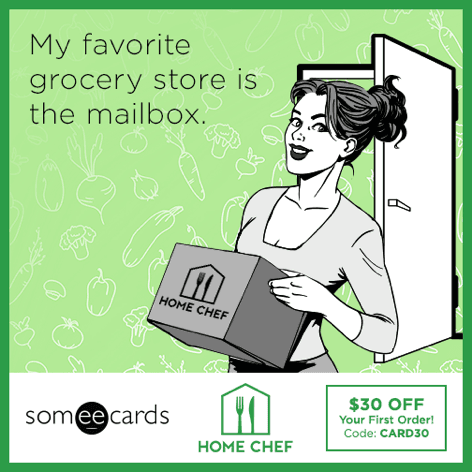 My favorite grocery store is the mailbox.