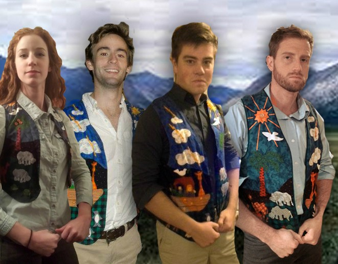 Five random people on the Internet just discovered their grandmas gave them the same awful vest.