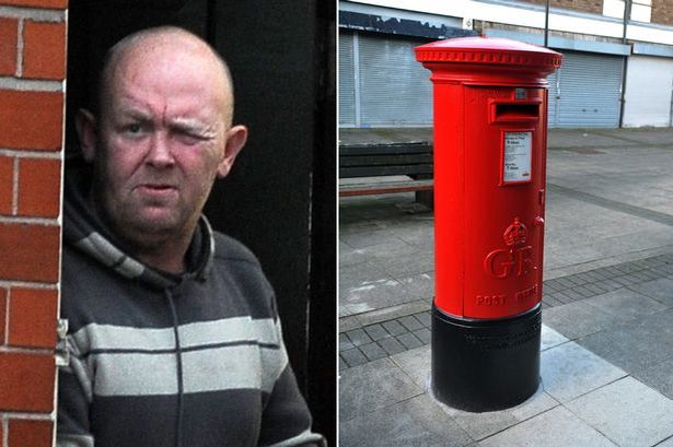 """Drunk guy in trouble for making love to mailbox while yelling """"wow."""""""