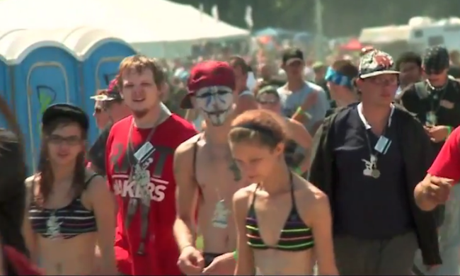 "Morgan Freeman narrating ""The March of the Juggalos"" is a thing of beauty."