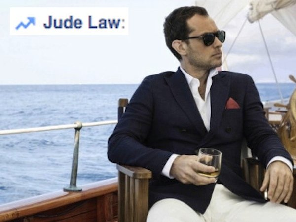 Why Am I Trending? Jude Law