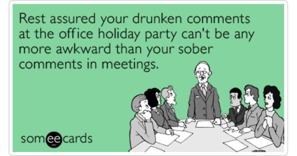 Funny Office Holiday Party Memes & Ecards - Someecards