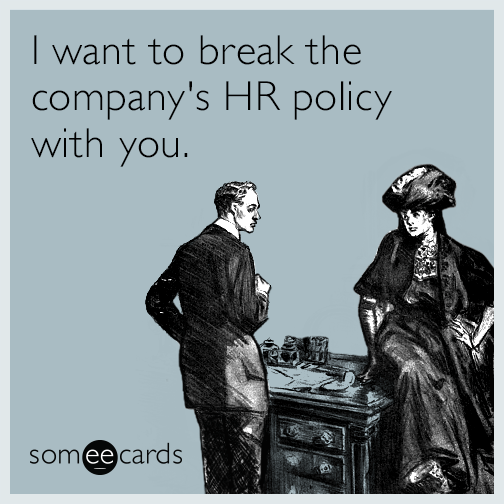 Company policies on dating in the workplace