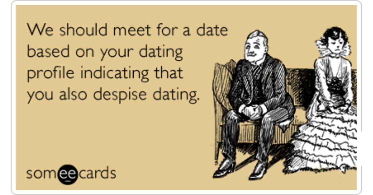 Online dating rotten dating ecards
