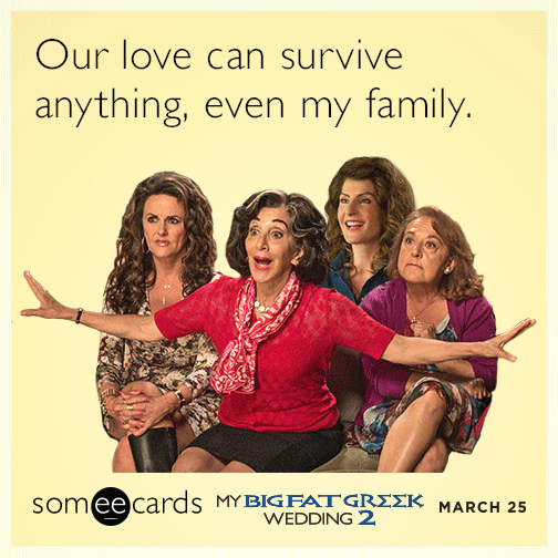 Our Love Can Survive Anything, Even My Family.