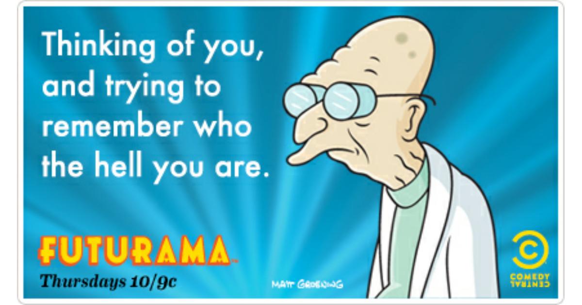 Futurama Ecards Free Futurama Cards Funny Futurama Greeting – Valentine E Cards Funny