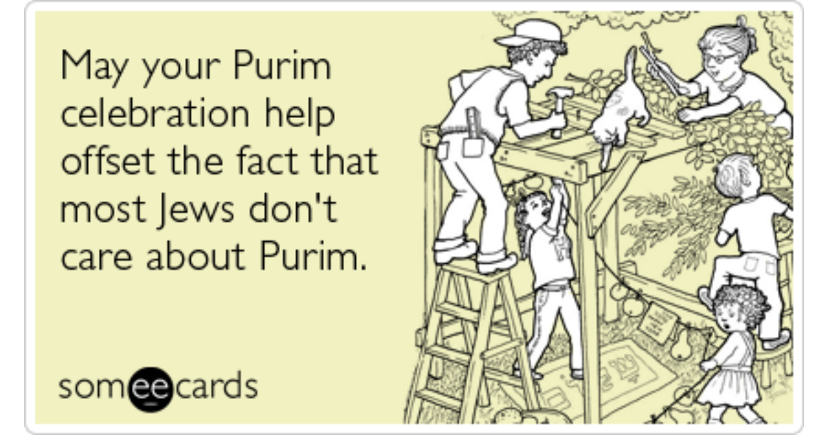 purim jews ecard news ecard