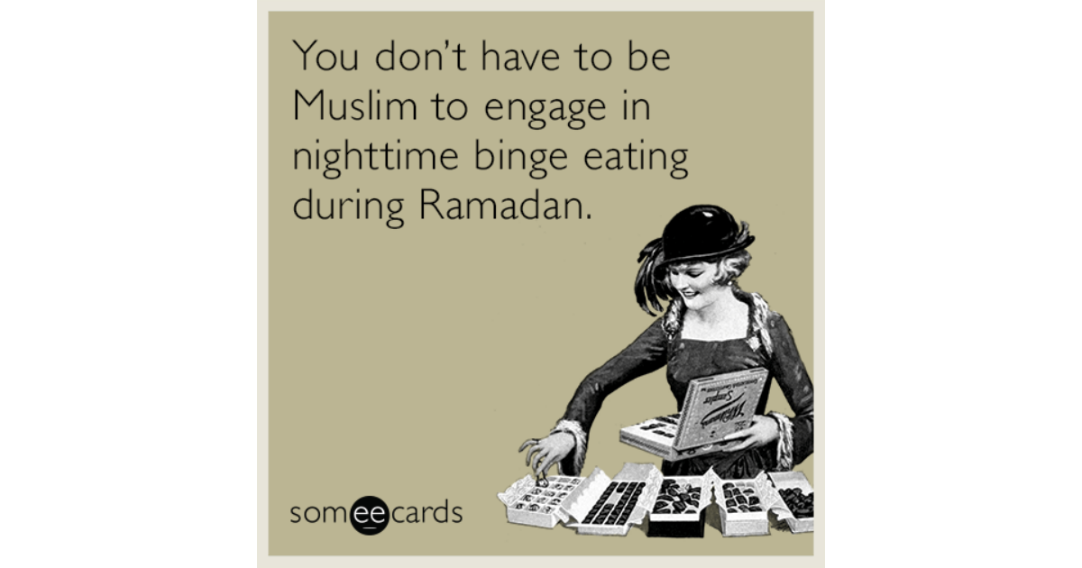 dating a muslim during ramadan However, muslim scholars say it's not enough to just avoid food and drinks during the day ramadan is also an exercise in self-restraint muslims are encouraged to avoid gossip and arguments.