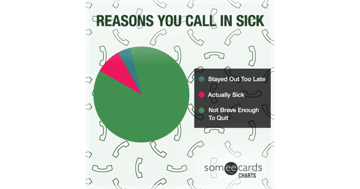 reddit how to call in sick