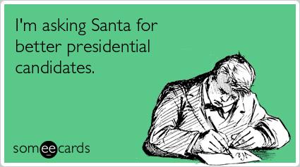 Christmas voter.