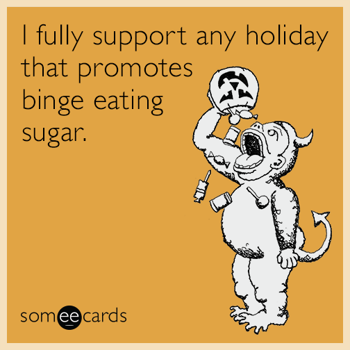 I fully support any holiday that promotes binge eating sugar.