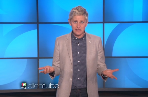 Ellen takes on anti-gay pastor and reveals what her secret agenda really is.
