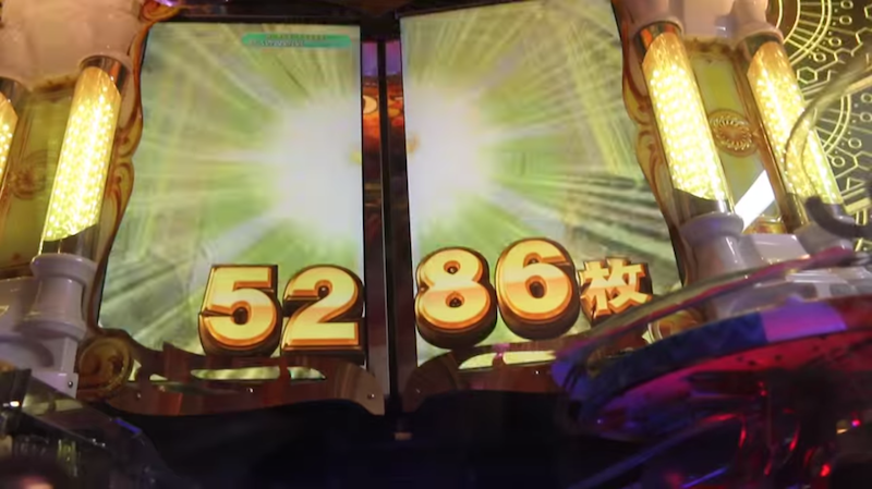 Two Australian dudes narrate the insane experience of hitting the jackpot on a Japanese slot machine.