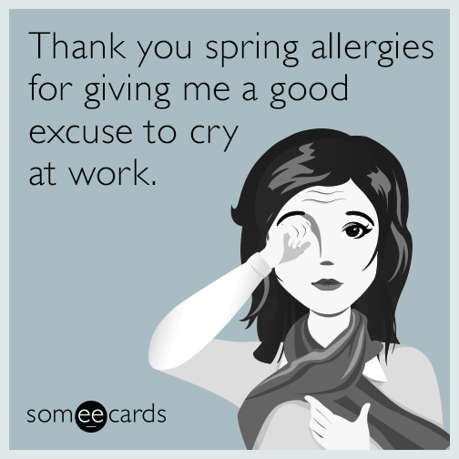 Preschool Partners Colorado Springs: Thank You Spring Allergies For Giving Me A Good Excuse To