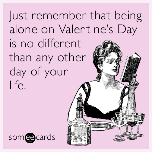 Funny Valentine's Day Memes Ecards Someecards Simple Quotes Valentines Day Funny