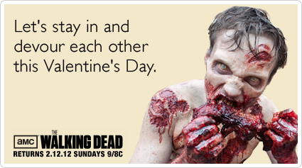 Zombies Walking Dead Sex Valentines Day Funny Ecard – Zombie Valentines Cards