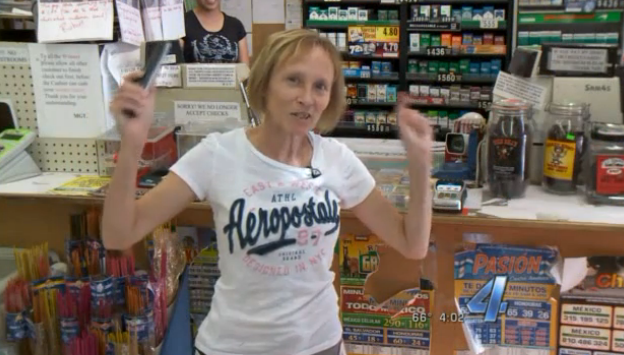 This fearless grandma clerk standing up to a 14-year-old robber will make you question your own bravery.