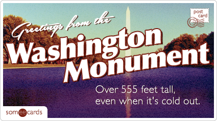 10 brutally irreverent postcards from monuments you can't currently visit because the government is run by petty dickheads.