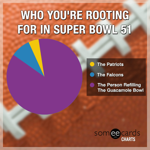 Who you're rooting for in Super Bowl 51