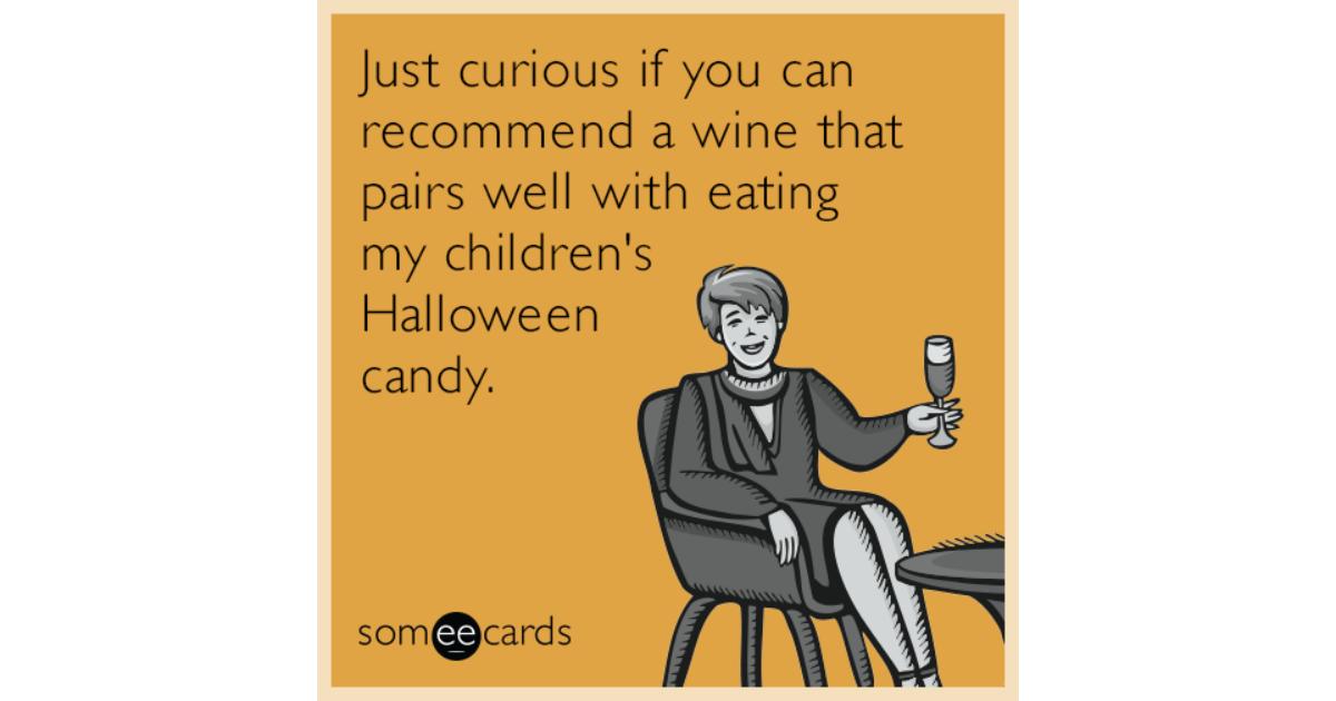 Adult halloween ecard