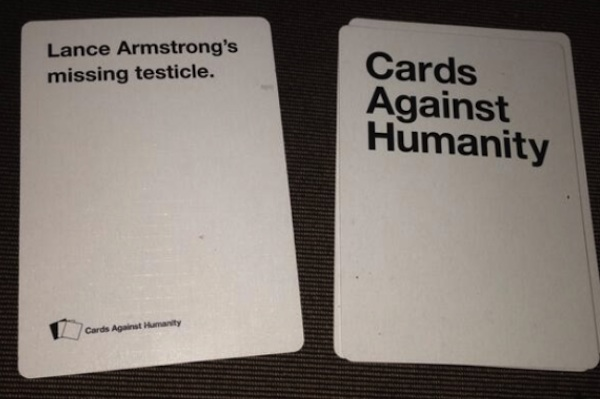 example of cards against humanity