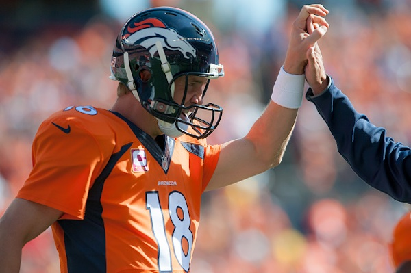 Peyton Manning credits Colorado's legalization of pot with his booming Papa John's business.