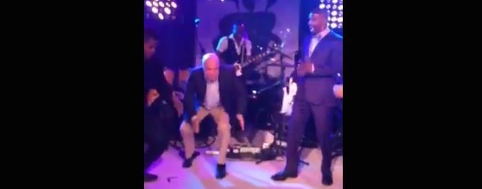 John McCain did the robot. Seriously, he really went for it.