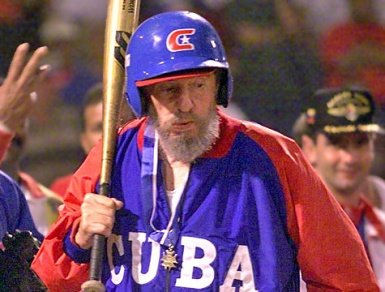 Former baseball prospect and current murderous Communist dictator Fidel Castro turns 84 today.