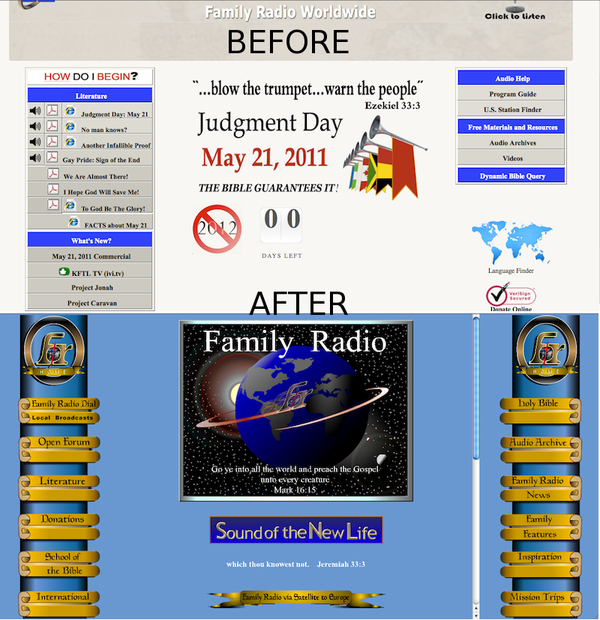 Family Radio Web Site debuts exciting new redesign!