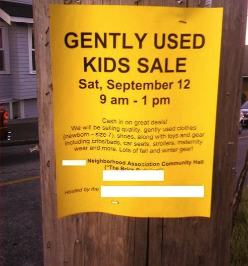 Flyer inadvertently advertises world's creepiest bargain.