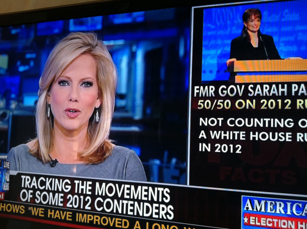 Fox News reports on Tina Fey's possible presidential run.