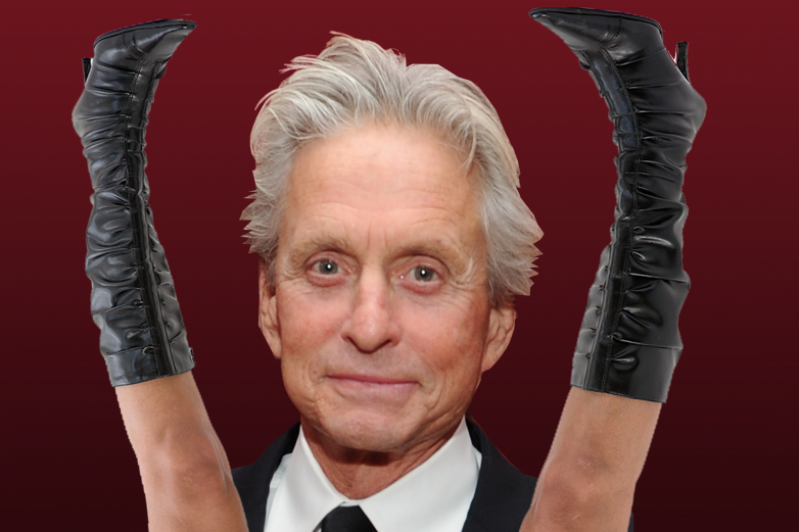 Michael douglas is a sex addict