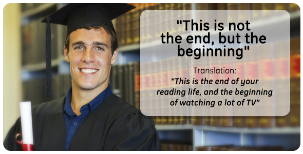 Translations Of Graduation Speech Cliches  Someecards School