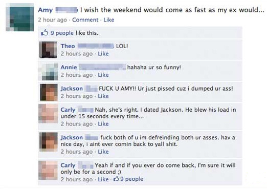 Loading - 24 facebook breakups that are so awkward it hurts