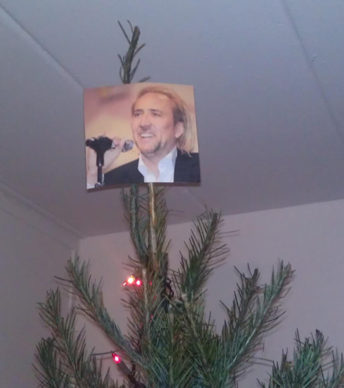 The 13 most wonderfully blasphemous items ever placed on top of Christmas trees.