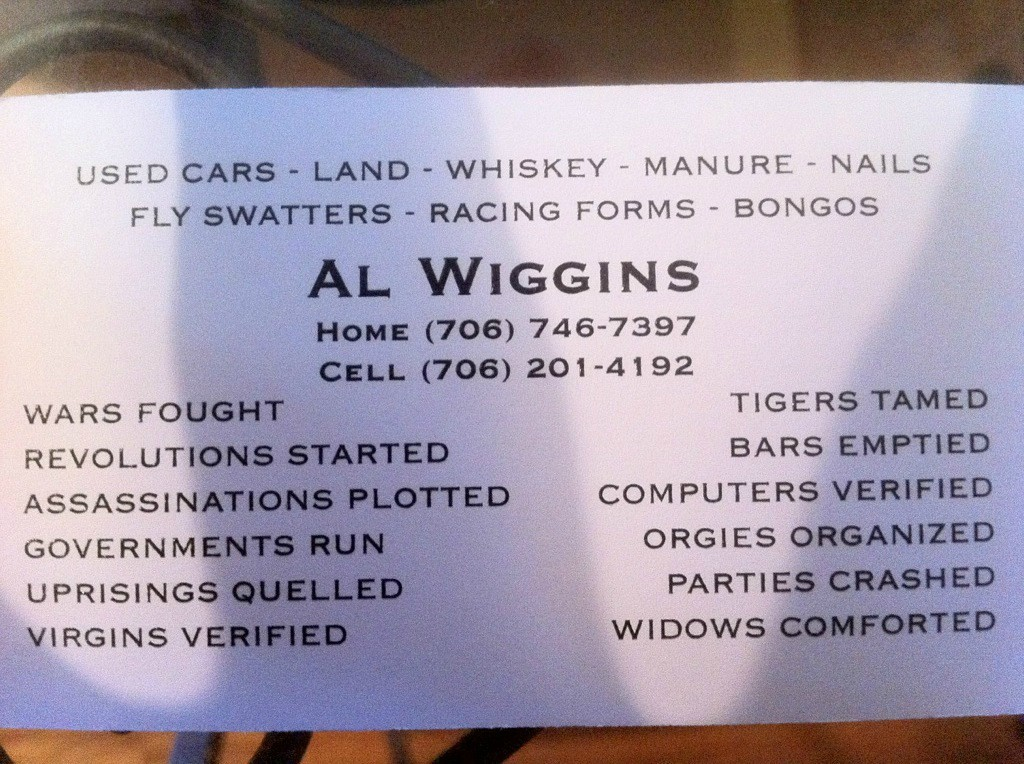 Man Makes Outrageous Claims On Business Cards | Someecards Workplace