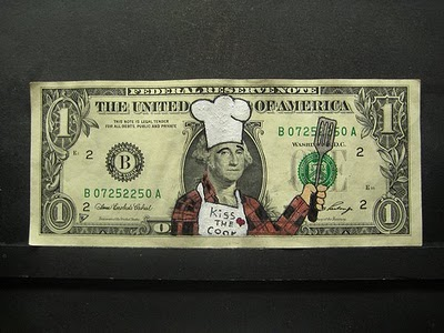 11 more impressive examples of creatively defaced currency.