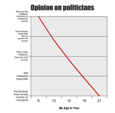 11 refreshingly honest charts and graphs about election season.