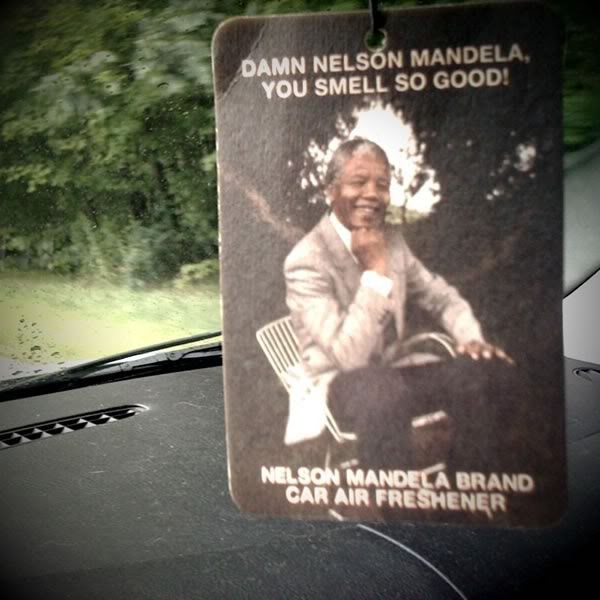 How to make your car smell like a celebrated civil rights leader.